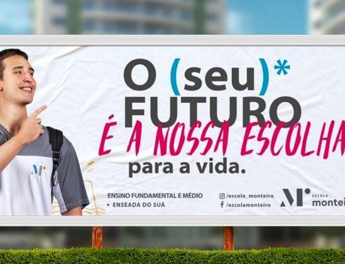 Escola Monteiro lança campanha de matrícula que valoriza boas escolhas e resgata as raízes e a história do Espírito Santo